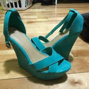 Shoes - Brand new wedges!!